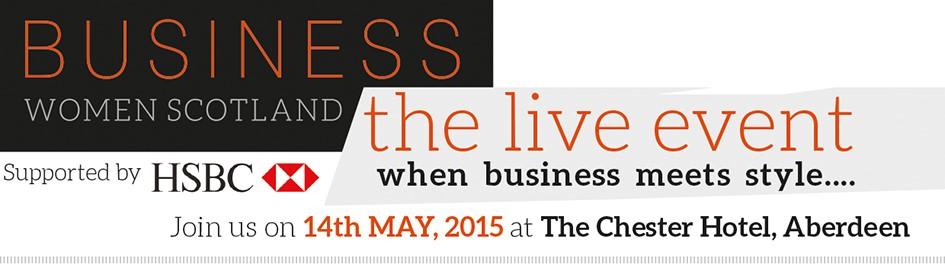 BWS live event aberdeen logo